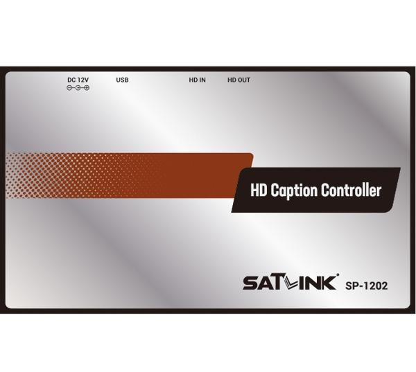 sp 1202 hd caption controller fujian satlink electronics